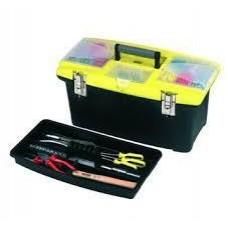 "STANLEY 400mm Tools Storage Or 16"" Plastic Tool Box 92905"