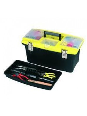 "STANLEY 400mm Tools Storage Or 22"" Plastic Tool Box 92908"