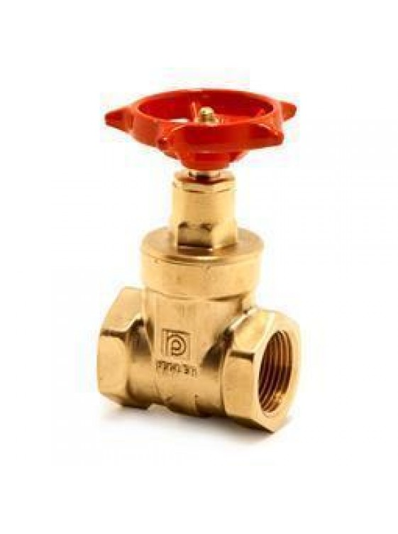 "PEGLER Brass Gate Valve (UK- 1065) 32mm(1-1/4"")"