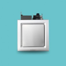 "AIREGARD 4"" Silent Ventilator AS-6090-D2 (Square)"