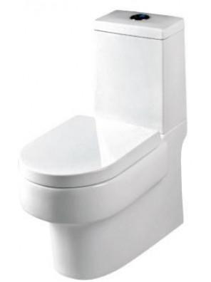 Orin Alsace BO 220mm 3/6L C/Coupled WC Set(White)