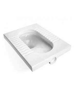 ZELLA Squatting Pan (White) SQ-378