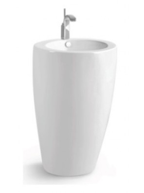 ZELLA Stand Alone Basin (White) PB-900