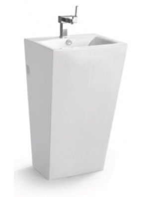 ZELLA Stand Alone Basin (White) PB-901