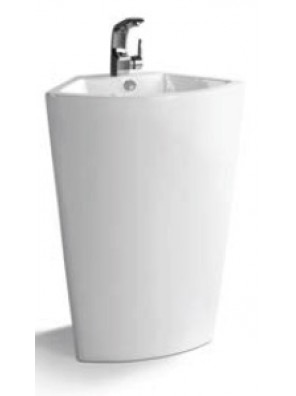 ZELLA Stand Alone Basin (White) PB-904