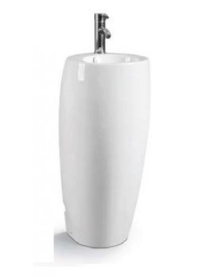 ZELLA Stand Alone Basin (White) PB-907