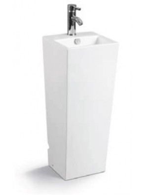 ZELLA Stand Alone Basin (White) PB-908