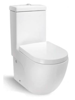ZELLA Wash Down 1Piece Water Closet(Horizontal)(White) C-623