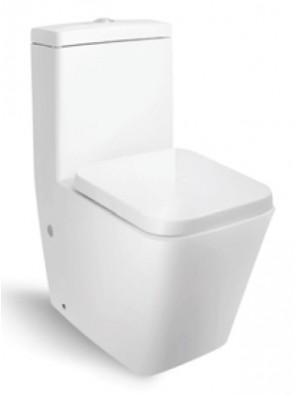 ZELLA Wash Down 1Piece Water Closet (Horizontal)(White) C-624