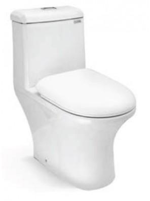 ZELLA Wash Down 1Piece Water Closet S Trap 300mm(White) C-627