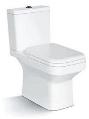 ZELLA Wash Down 2Piece Water Closet S Trap 250mm(White)C-300