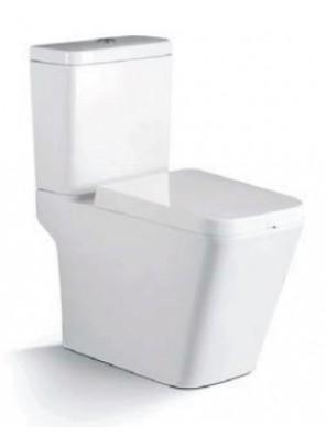 ZELLA Wash Down 2Piece Water Closet S Trap 250mm(White)C-301