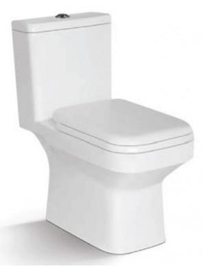 ZELLA Wash Down 1Piece Water Closet S Trap 250mm(White)C-629