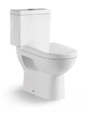 ZELLA Washdown 2Piece Water Closet P Trap 180mm(White)C-102P