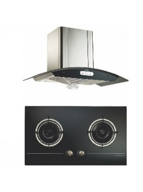 ZANUSSI HOOD + HOB PACKAGE 0218