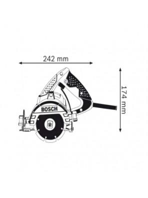 BOSCH 1300W Diamond Wheel Cutter GDM 13-34