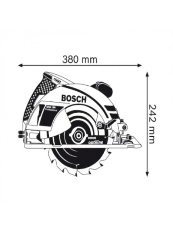 BOSCH 1400W Circular Saw GKS 190