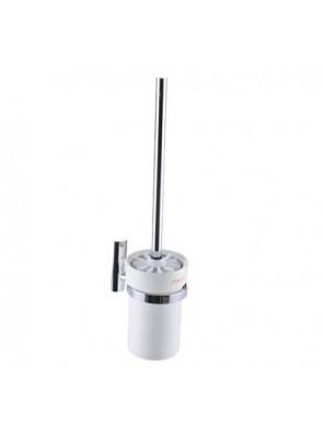 FELICE Toilet Brush Holder c/w Ceramic Glass FLS 83988