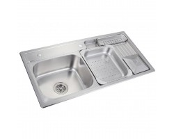 HCE Stainless Steel Top/Undermount Kitchen Sink KS 10050
