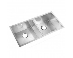 HCE Stainless Steel Undermount Double Bowl Kitchen Sink KS 9045