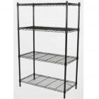 VETOP Epoxy Blk Mild Steel Shelf 4 Large Shelves ER4-1836-59