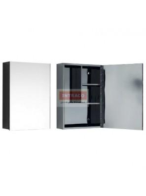 AIMER S/Steel (Black Colour) Bathroom Mirror Babinets Size:600 x 400 x 125mm - AMBC-7227