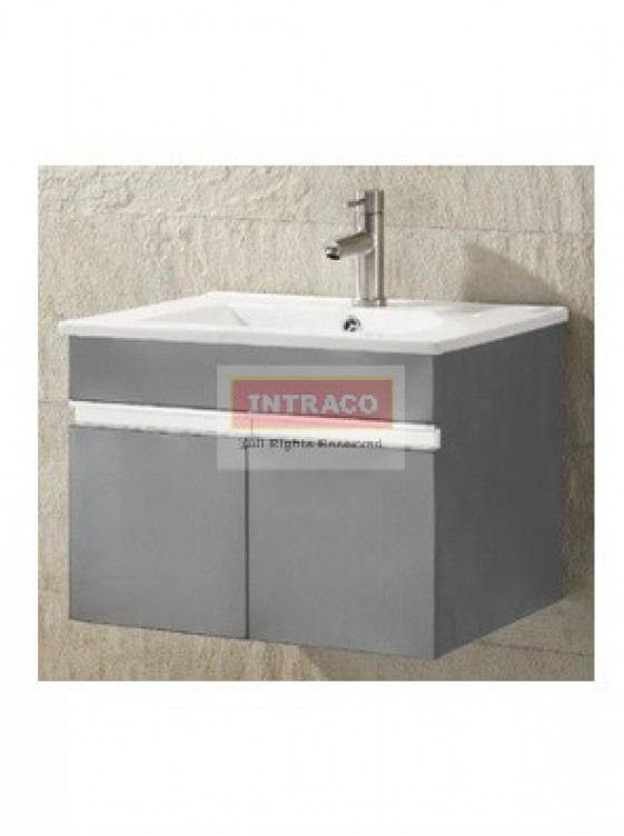 AIMER S/S Bathroom Cabinet Only c/w Pop-up waste - AMBC-7233