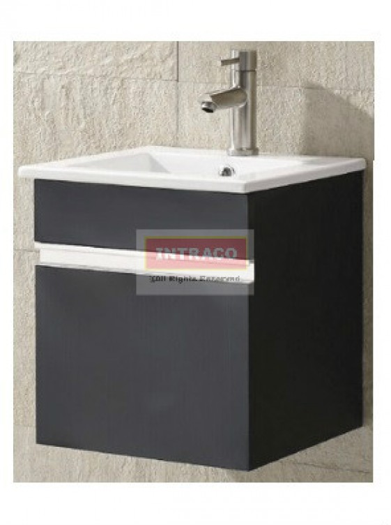 AIMER S/S Bathroom Cabinet Only c/w Pop Up Waste - AMBC-7234