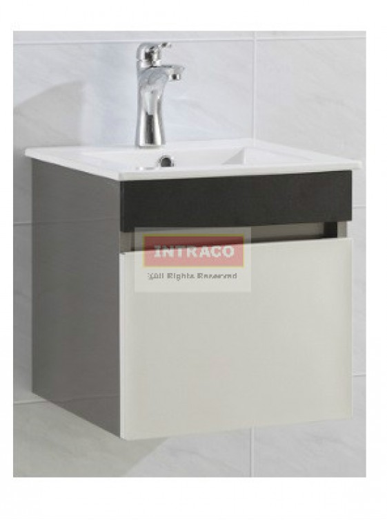 AIMER S/S Bathroom Cabinet Only c/w Pop Up Waste - AMBC-7239