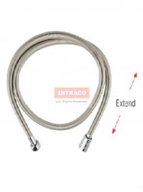 AIMER 1.5M S/S SUS 304 Chrome Spring Flexible Hose Only - AMACC-4415