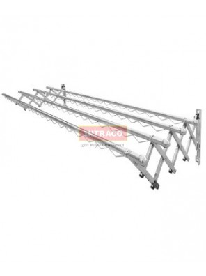 AIMER S/S SP Sliding Rack Hanger (4 Tube) Size: 2000mm - AMCH-624