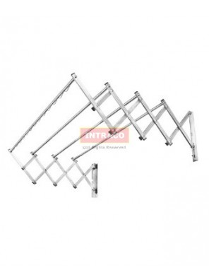 AIMER Stainless Steel SP Sliding Clothes Hanger Size:1200mm - AMCH-1636