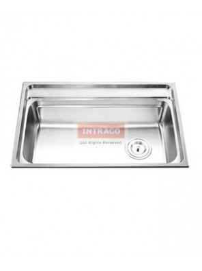 AIMER S/S SUS 304 Single Bowl Kitchen Sink C/W Waste AMKS784822