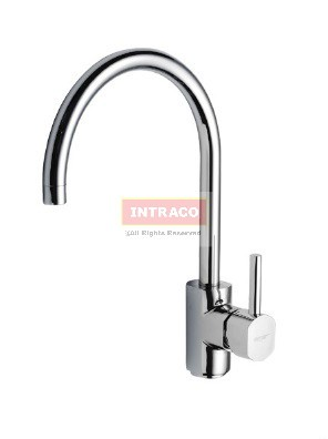 AIMER Brass Chrome Kitchen Pillar Sink Tap Mixer AMMX-89201