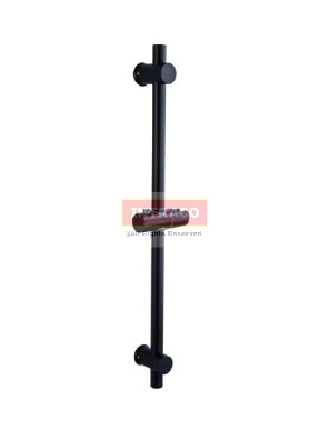 AIMER S/S SUS304 (Black) Shower Rail Only (ABS Holder) Round  AMBA-803