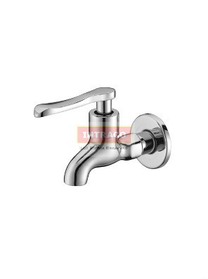 AIMER Brass Chrome Wall Bib Tap AMFC-1303