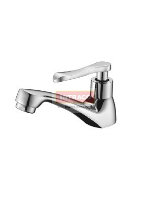 AIMER Brass Chrome Basin Pillar Tap AMFC-1304