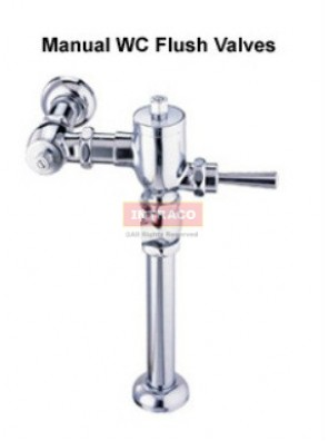 DOE DE600NH WC FLUSH VALVE