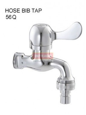 DOE DT56Q ABS HOSE BIB TAP QT HANDLE CHROME PLATED