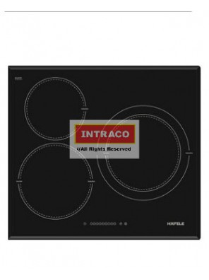 HAFELE HC-1603B 536.01.601 3 Induction cooking hob; Size: 590W X 520D X 67H mm