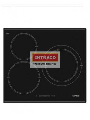 HAFELE HC-1603B 536.01.601 3 Induction cooking hob; Size: 590W X 520D X 67H mm