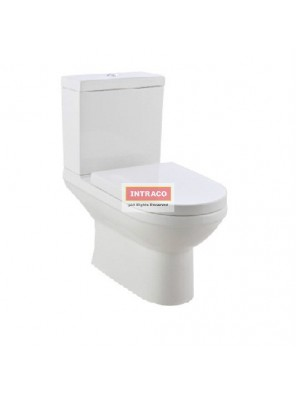 JOHNSON SUISSE COMPLETE SET FOR TURIN DUAL OUTLET 6/3L CLOSE COUPLED WC SET (WHITE)