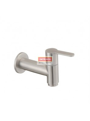 "JOHNSON SUISSE WBFA301417SS MURANO S/S 1/2"" SLIM BIB TAP WITH WALL FLANGE"