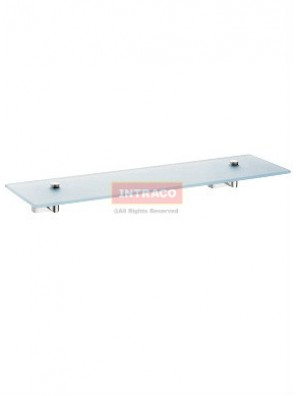Johnson Suisse WBBA100172CP Rivoli-Glass Shelf