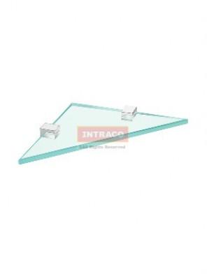 Johnson Suisse WBBA100249CP Design-Corner Glass Shelf