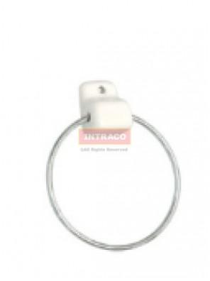 Johnson SuisseWBBSTG000WW 1 No. Towel Ring Bracket Only (White)