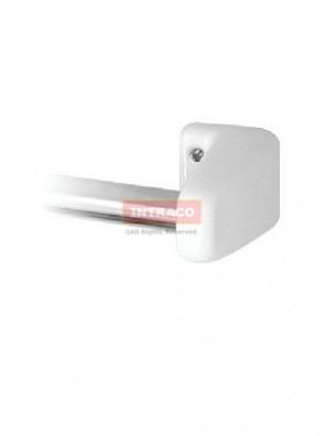 Johnson Suisse WBBSTW000WW 2 Nos. Towel Rail Brackets (White)