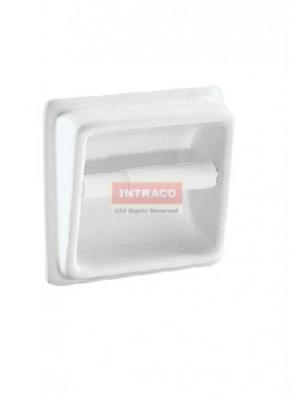 Johnson Suisse WBBRTE000WW Toilet Roll Holder Only (White)
