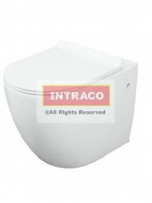 Orin Luxor Wall Hung WC  HO=180mm, c/w UT1005 Ultra-Thin Soft Close S/C 'P' Trap (White)