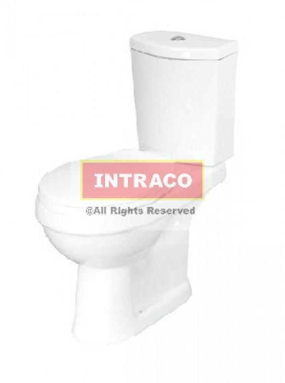 "Orin Smart C/C WC  HO=180mm; 3/6L c/w Ws3580 PP S/Close, S/Cover ""P"" Trap (White)"